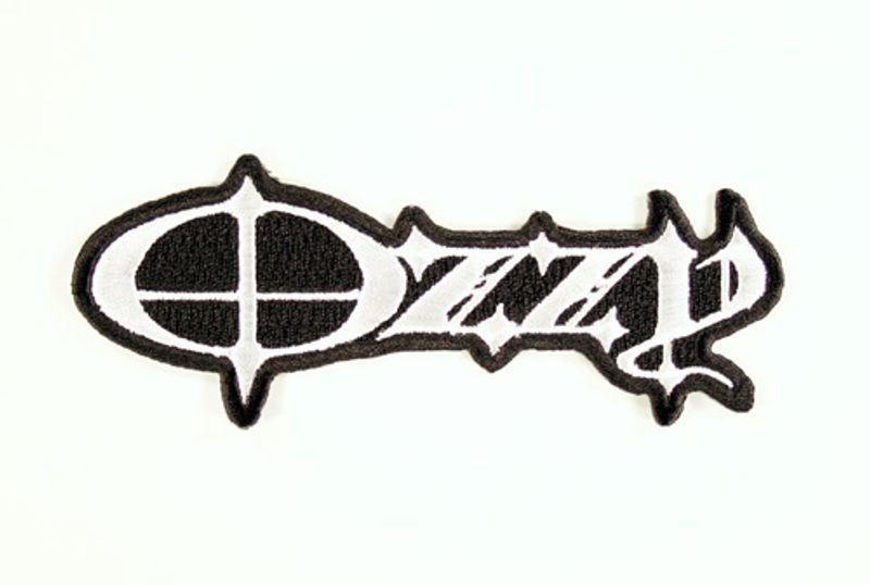 ozzy osbourne - black & white logo (patch) - amoeba music