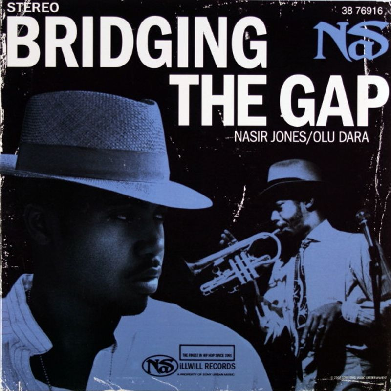 Nas, Olu Dara - Bridging The Gap [Promo Only] (Vinyl 7