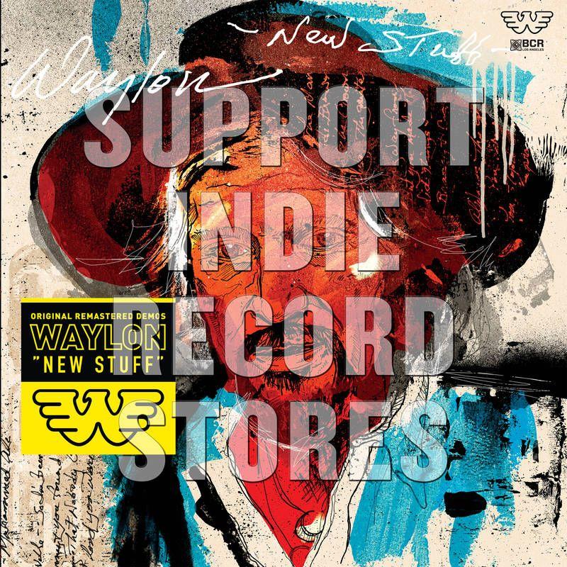 Waylon Jennings New Stuff Black Friday Colored Vinyl Vinyl Lp Amoeba Music