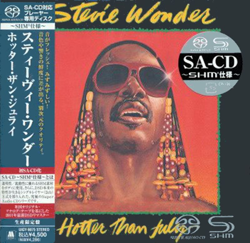Stevie Wonder - Hotter Than July [Japan] [SACD] (CD