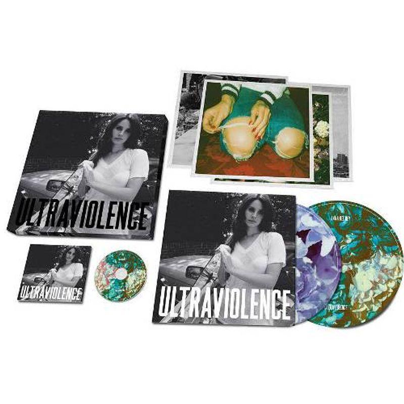 Lana Del Rey Ultraviolence Deluxe Box Set Vinyl Lp Amoeba Music