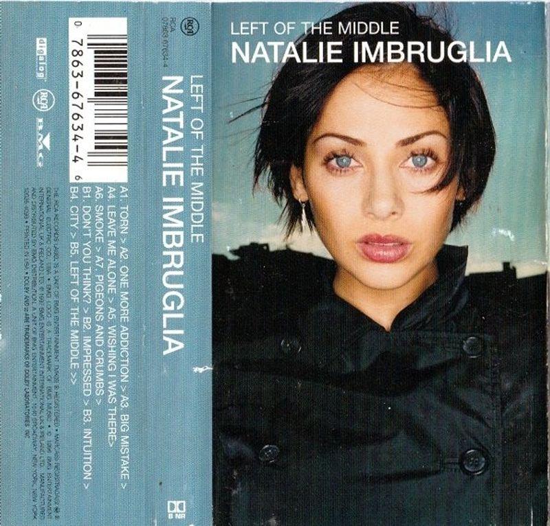 Natalie Imbruglia - Left Of The Middle (Cassette) - Amoeba Music