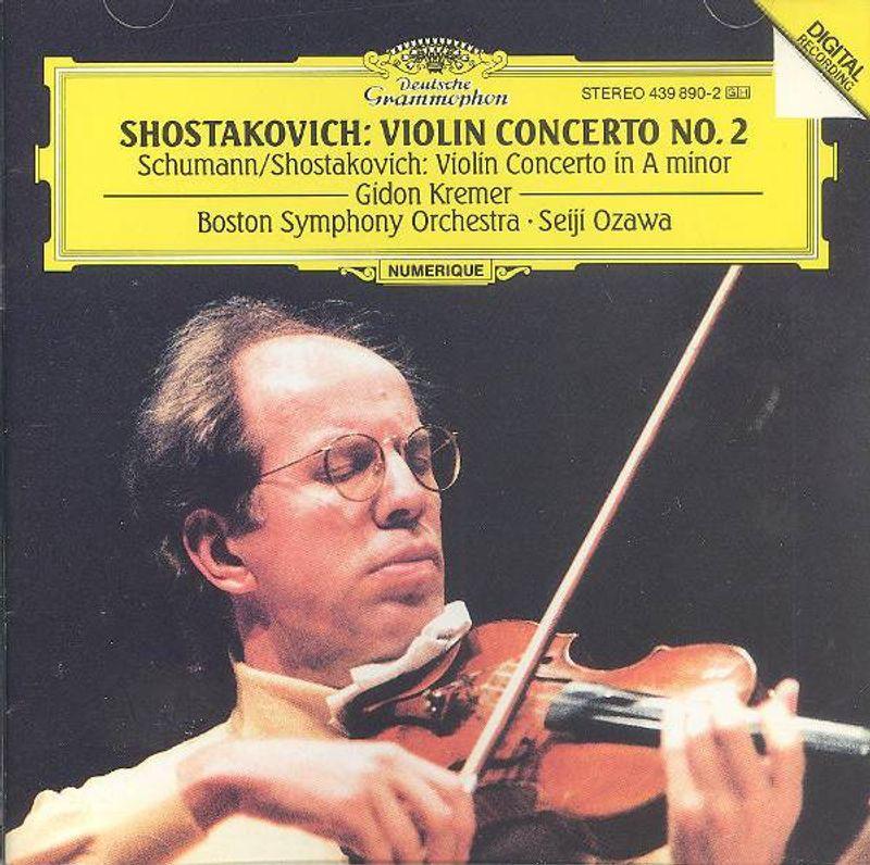 Dmitri Shostakovich, Robert Schumann, Gidon Kremer, Seiji