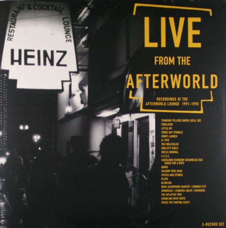 Various Artists - Live From The Afterworld (Recordings At