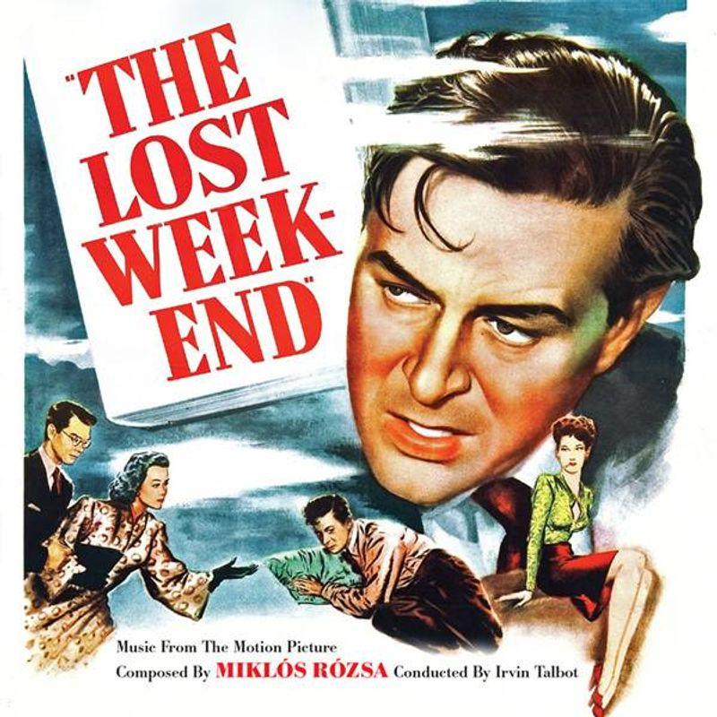 1004044989b Miklós Rózsa - The Lost Weekend  Score   Limited Edition  (CD ...