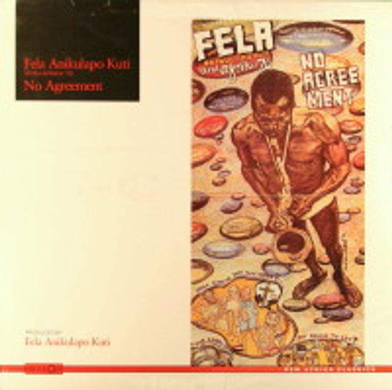Fela Kuti No Agreement Dog Eat Dog Vinyl 12 Amoeba Music