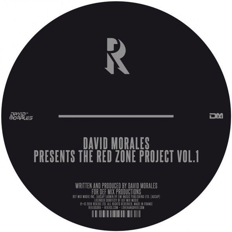 david morales the red zone project vol 1 vinyl 12 amoeba music