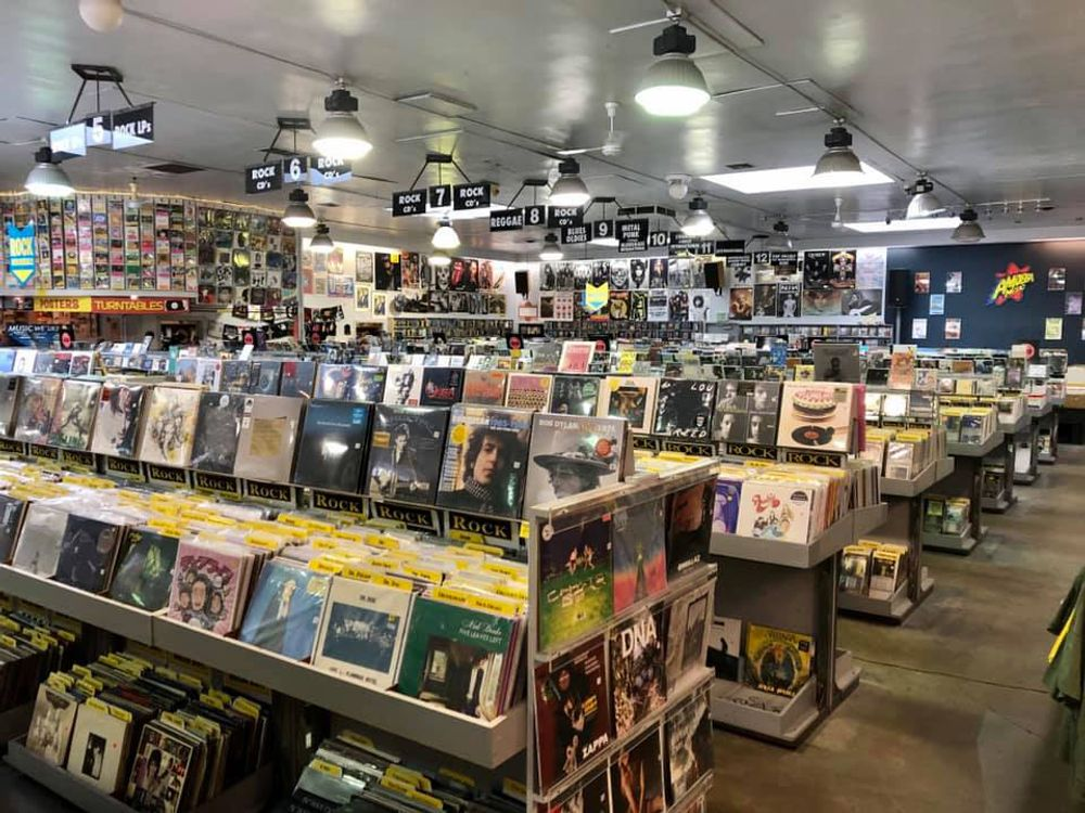 Amoeba Berkeley interior