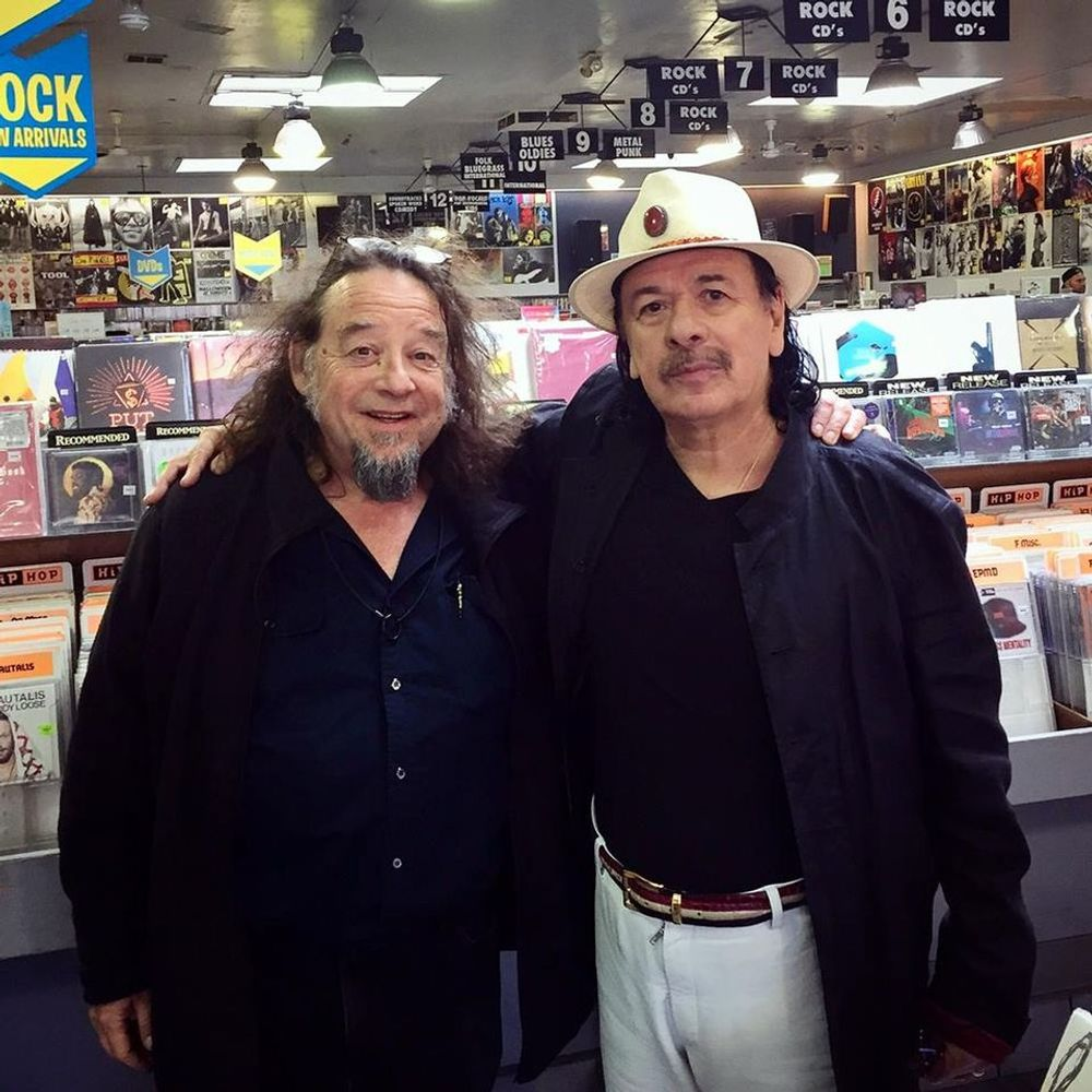 Carlos Santana at Amoeba Berkeley
