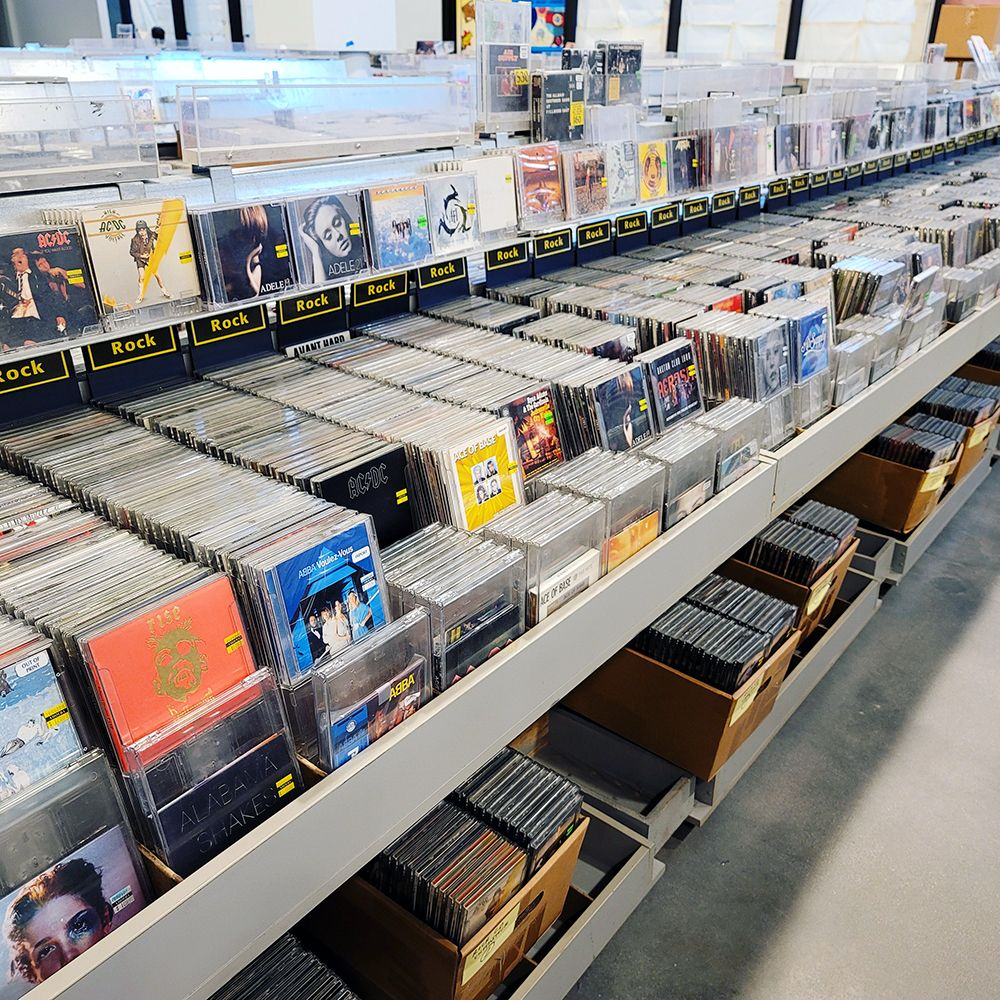 Rock CDs Amoeba Hollywood