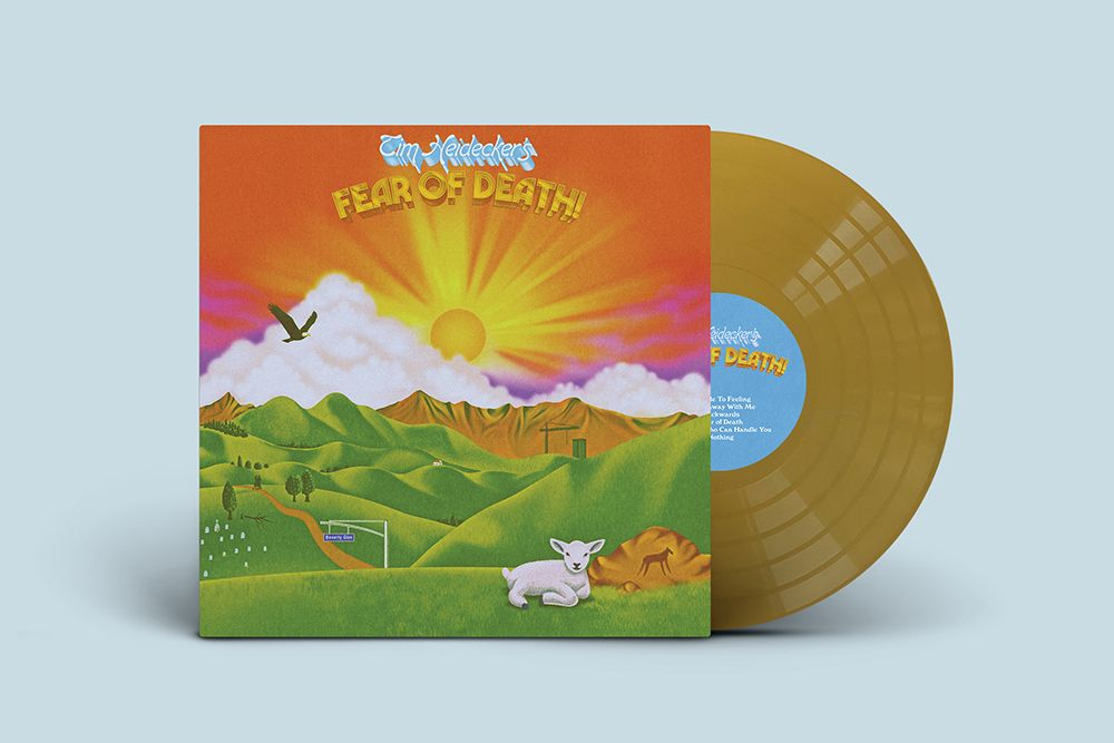 Tim Heidecker Fear of Death gold vinyl
