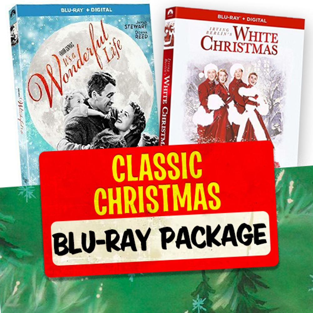 Classic Christmas Blu-Ray Package