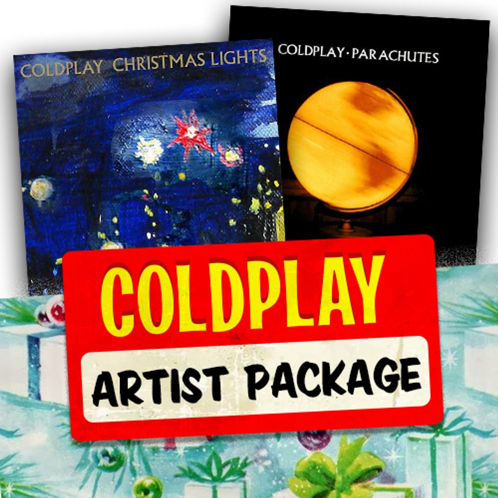 Coldplay Artist Package