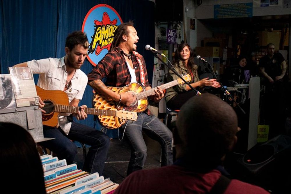 Michael Franti at Amoeba Berkeley