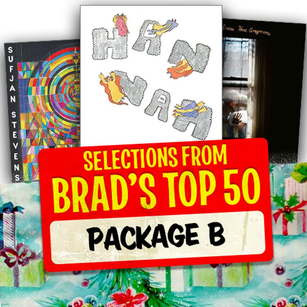 Selections Form Brad's Top 50 - Package B