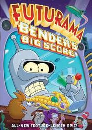 Futurama The Movie-Benders Big Score (DVD)