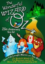 The Wonderful Wizard Of Oz: 25th Anniversary Collection (DVD)