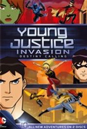 Young Justice - Invasion Destiny Calling: Season 2, Part 1(DVD)