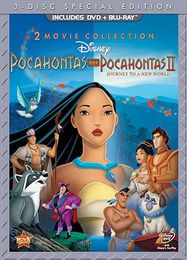 Pocahontas / Pocahontas II: Journey to a New World (BLU)
