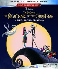 Nightmare Before Christmas: 25th AnniversarySing Along Edition (BLU)