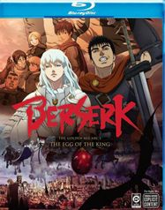 Berserk: The Golden Age Arc I - The Egg of the King (BLU)