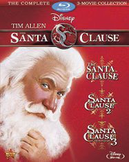 The Santa Clause 3-Movie Collection (BLU)