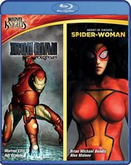Iron Man: Extremis / Spider Woman: Agent of S.W.O.R.D. (BLU)