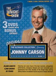 The Tonight Show: The Ultimate Collection Starring Johnny Carson Volume 1-3 (DVD)