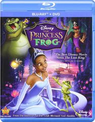 The Princess and the Frog (BLU)