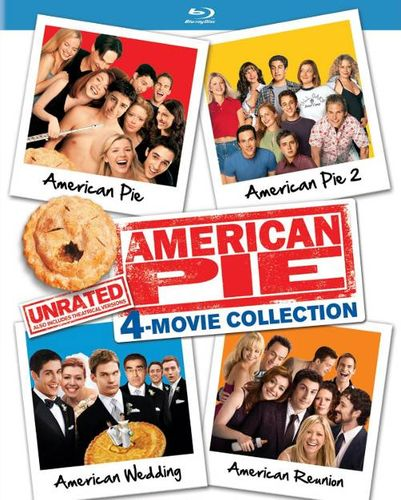 American Pie Unrated 4 Movie Collection Blu