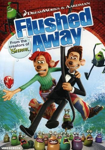 Flushed Away Dvd Amoeba Music