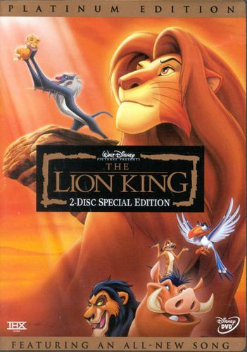 the lion king  1994   dvd
