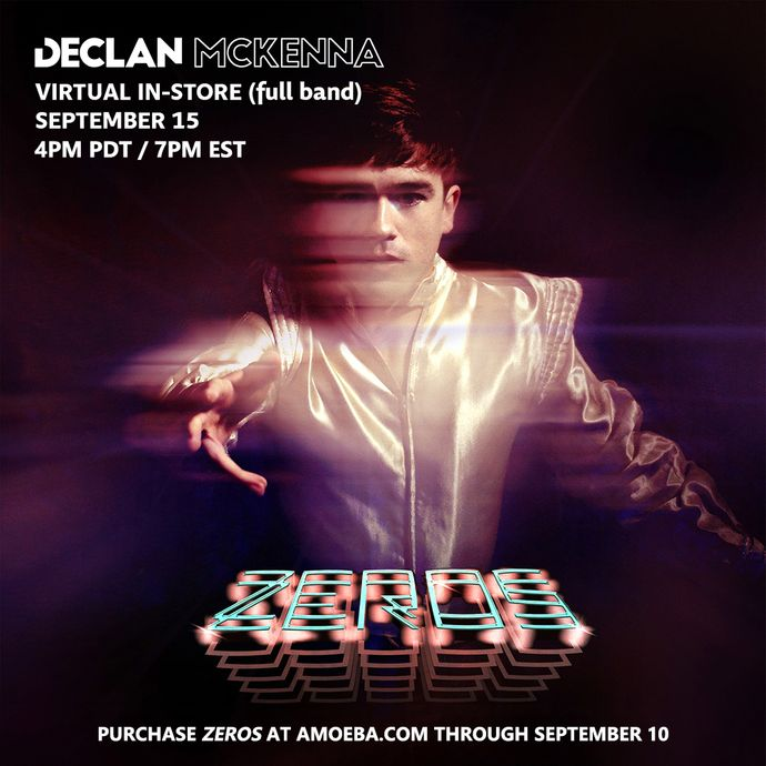 Declan McKenna Virtual In-Store Performance on September 15
