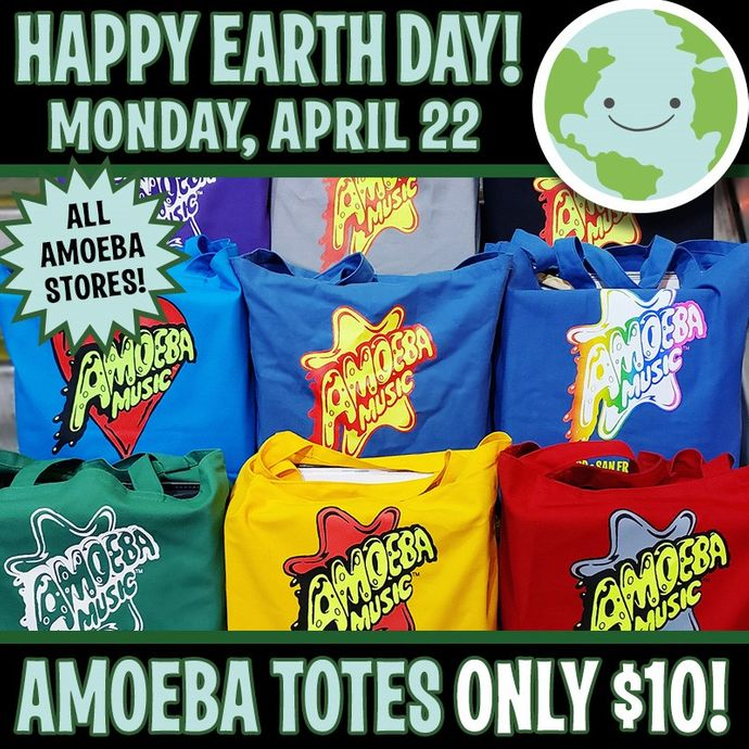 Earth Day Tote Bag Sale at Our Stores Monday, April 22