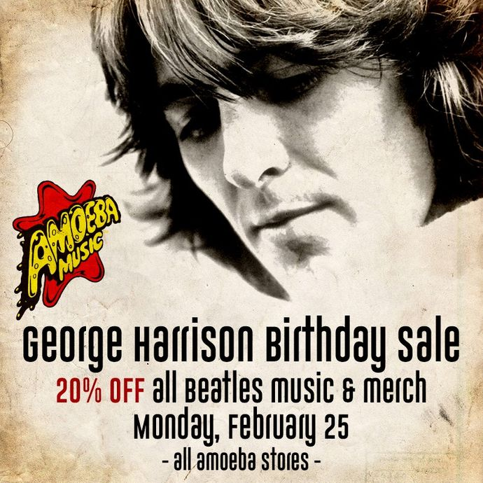 20% Off Beatles Music & Merch at Our Stores February 25