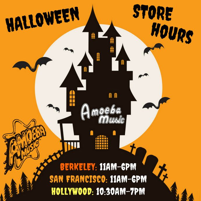 Special Halloween Hours at Our Stores on Tuesday, October 31st