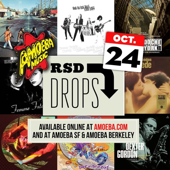 Record Store Day Drop #3 is Saturday, October 24