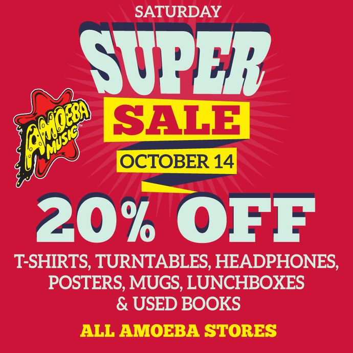 Super Saturday Sale at Our Stores Saturday, October 14