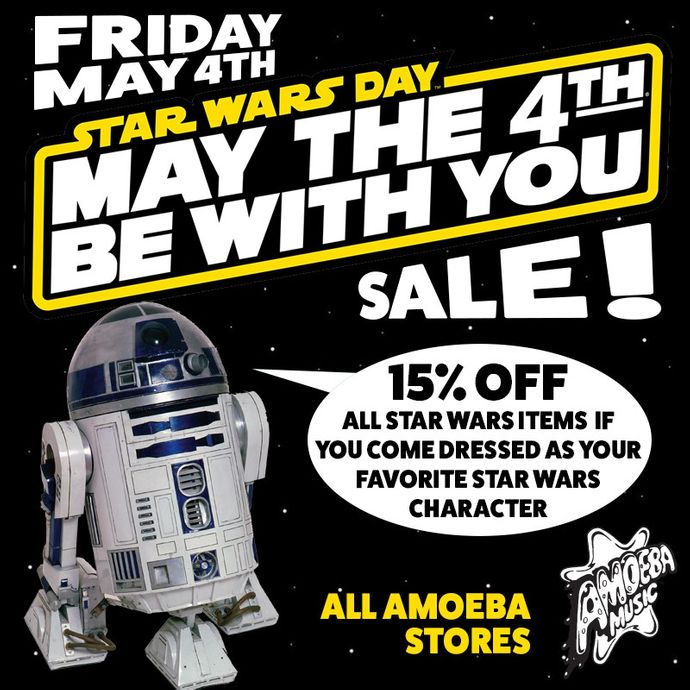 Star Wars Day: Star Wars Day Sale At Our Stores Friday
