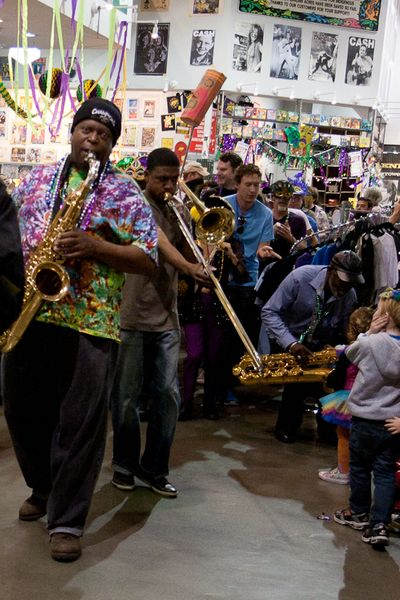 AMoeba HOllywood Fat Tuesday Mardi Gras