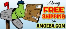 Free Shipping On Amoeba.com