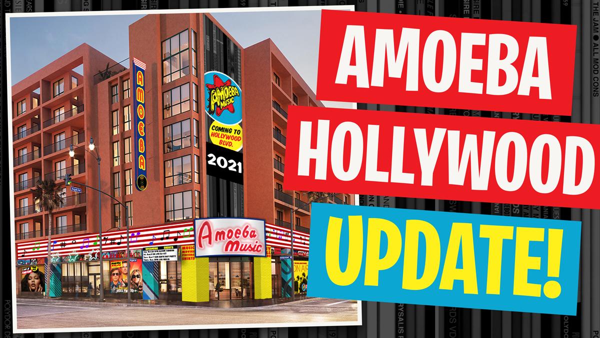 Amoeba Hollywood Is Opening Soon